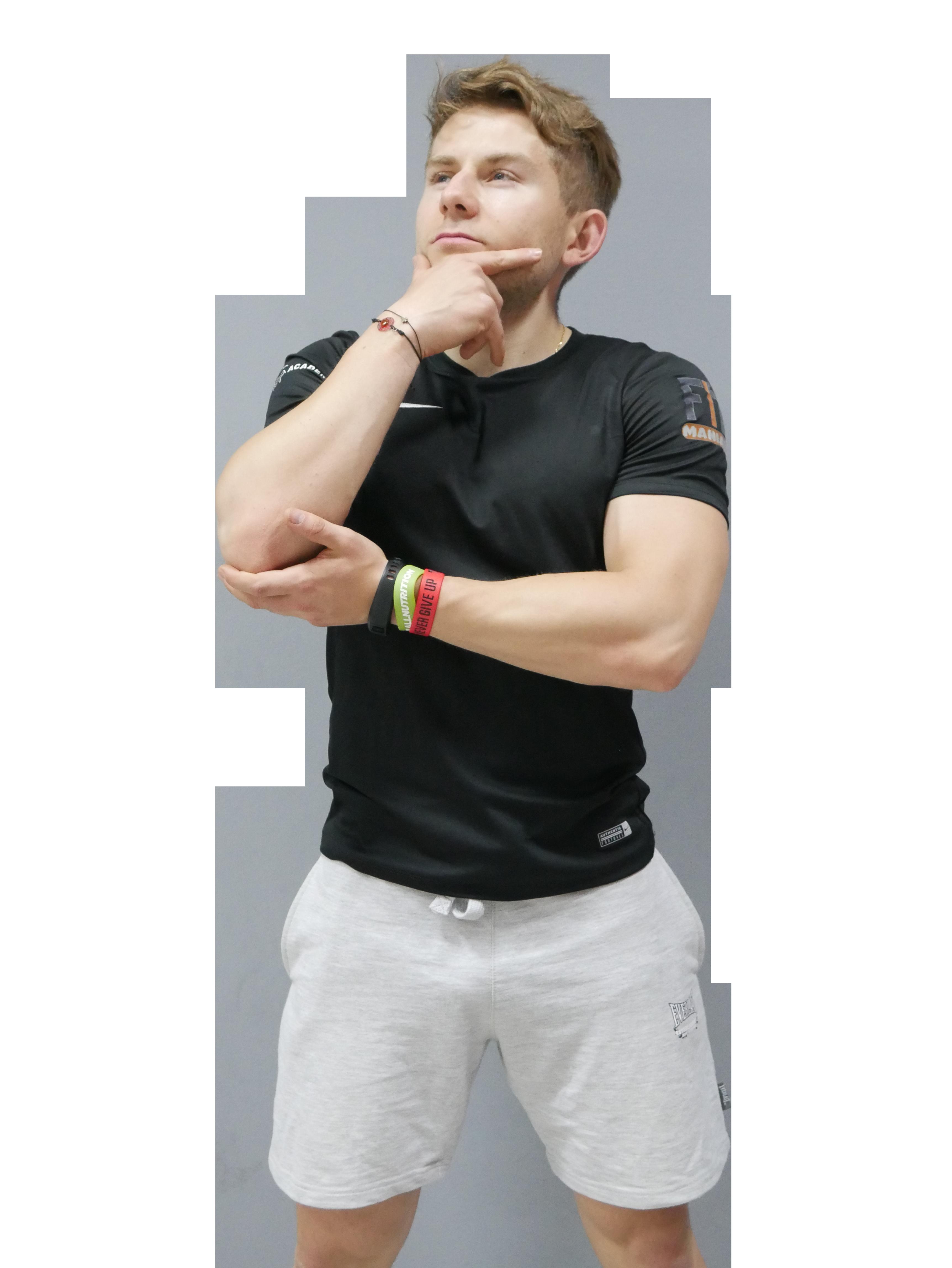 Radosław Pietrzak - trener personalny online