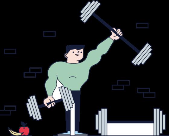 Męska wersja Habit Fitness Program