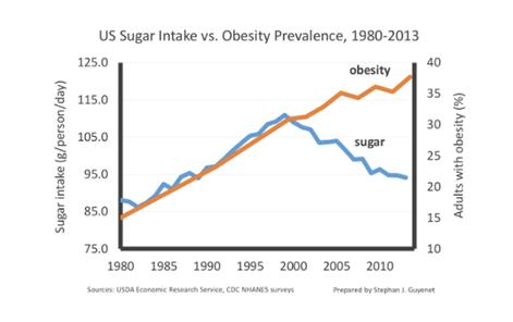Wpływ spożycia cukru na otyłość